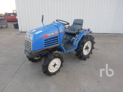 ISEKI SIAL5 4x4 Tracteur Utilitaire 4WD Utility Tractor