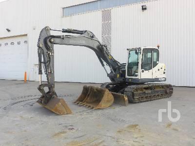 2016 TEREX TC125 Pelle Sur Chenilles Hydraulic Excavator