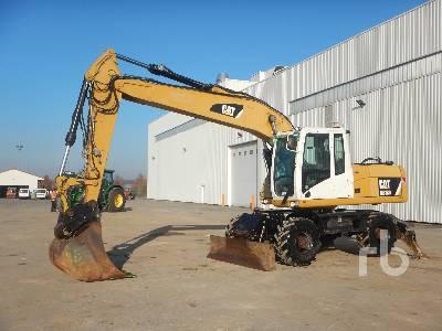 2012 CATERPILLAR M318D 4x4 Pelle Sur Pneus 4x4 4x4 Mobile Excavator