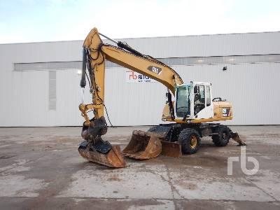 2012 CATERPILLAR M318D 4x4 Pelle Sur Pneux 4x4 4x4 Mobile Excavator