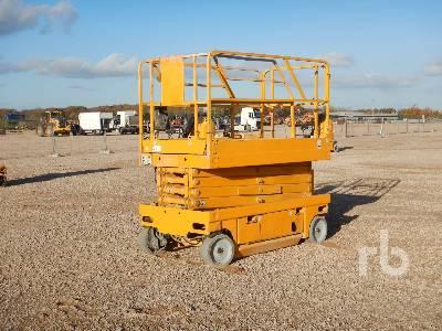 2007 HAULOTTE COMPACT 12 Nacelle Ciseau Electrique 10 m Elec Scissorlift