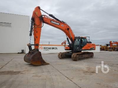 2016 DOOSAN DX340LC-5 Pelle Sur Chenilles Hydraulic Excavator