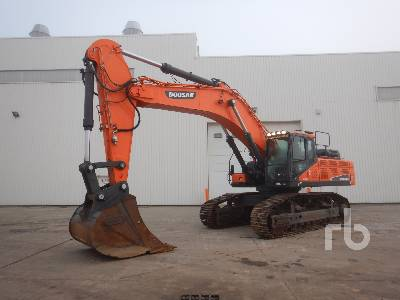 2016 DOOSAN DX530LC-5 Pelle Sur Chenilles Hydraulic Excavator