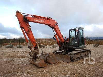 2012 HITACHI ZX85USBLC-3 Pelle Sur Chenilles Midi Excavator (5 - 9.9 Tons)