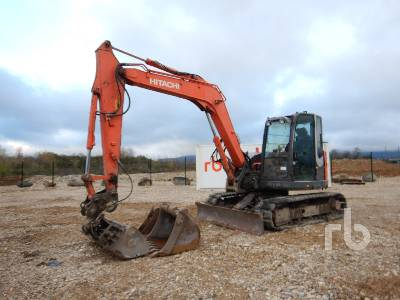 2011 HITACHI ZX85USBLC-3 Pelle Sur Chenilles Midi Excavator (5 - 9.9 Tons)