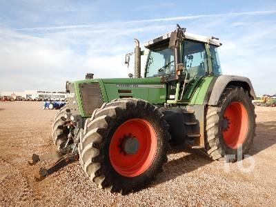 1998 FENDT FAVORIT 924 VAR MFWD Agricultural Tractor 4WD Agric MFWD Tractor