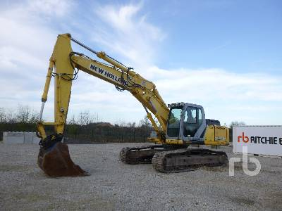 2008 NEW HOLLAND E265B Pelle Sur chenilles Hydraulic Excavator