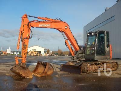 2012 HITACHI ZX85USBLCN-3 Pelle Sur Chenilles Midi Excavator (5 - 9.9 Tons)