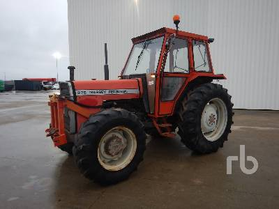 MASSEY FERGUSON 275 4RM 4WD Agricultural Tractor MFWD Tractor