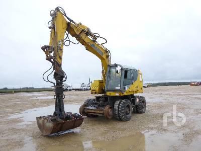 2002 CASE 788 Pelle Sur Pneus Mobile Excavator