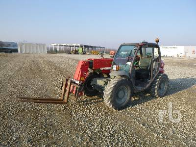 2006 MANITOU MT523 2300 Kg 4x4x4 Telescopic Forklift