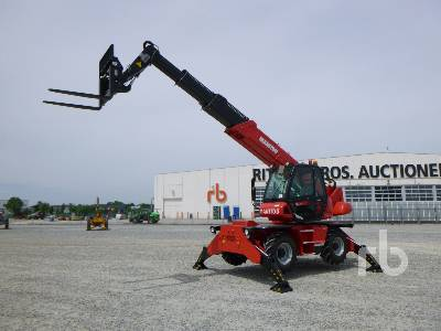 Unused 2018 MANITOU MRT1840 Easy 4000 Kg 4x4x4 Telescopic Forklift