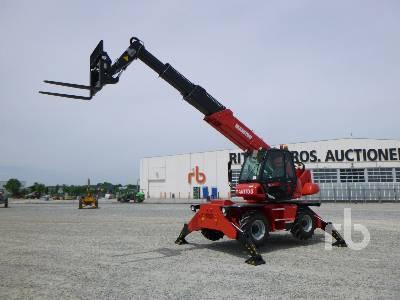 Unused 2018 MANITOU MRT1840 Easy 4000 Kg 4x4x4 Telescopic Forklift