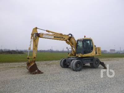 2000 KOMATSU PW130ES-6K Mobile Excavator