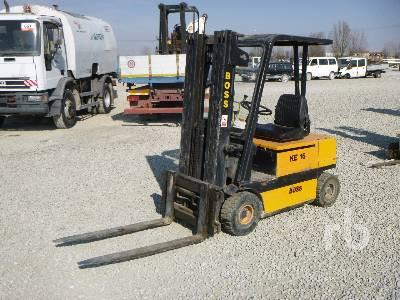 BOSS KE16 MK4 A-1 1600 Kg Electric Forklift