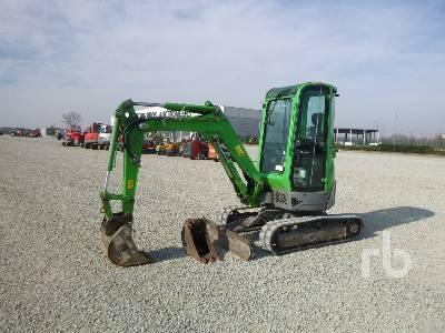 2012 YANMAR VIO25-4 Mini Excavator (1 - 4.9 Tons)