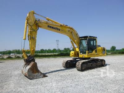 2010 KOMATSU PC230NHD-8 Hydraulic Excavator