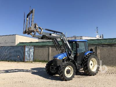 2006 NEW HOLLAND TD95D MFWD Tractor