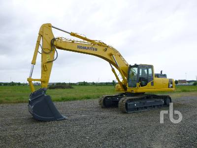 2010 KOMATSU PC350NLC-8 Hydraulic Excavator