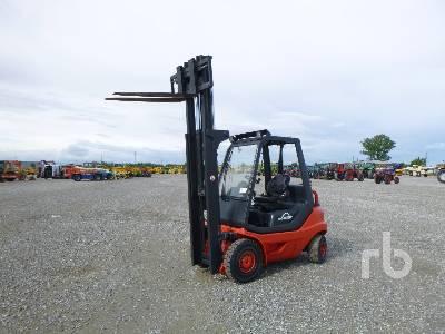 2002 LINDE H25D-03 2500 Kg Forklift