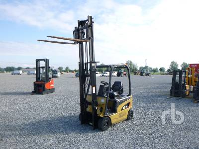 2008 CATERPILLAR EP16N 1600 Kg Electric Forklift