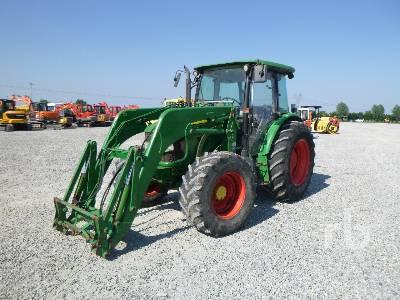 2007 JOHN DEERE 5820 MFWD Tractor