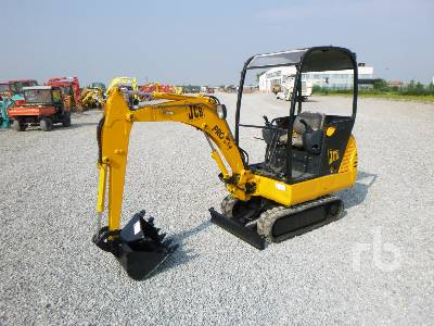 2001 JCB 8015 Mini Excavator (1 - 4.9 Tons)