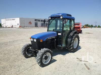 1998 NEW HOLLAND TNF75 DT MFWD Tractor