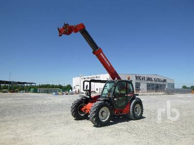 2001 MANITOU MLT730.120 3000 Kg 4x4x4 Telescopic Forklift