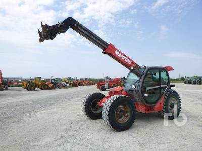 2009 MANITOU MLT741-120 4100 Kg 4x4x4 Telescopic Forklift