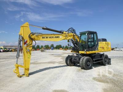 2013 NEW HOLLAND WE210B Mobile Excavator