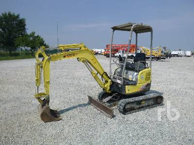 2008 YANMAR VIO17 Mini Excavator (1 - 4.9 Tons)