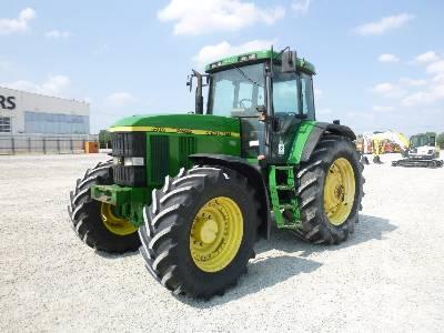 2003 JOHN DEERE 7710 MFWD Tractor