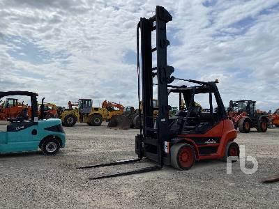 2008 LINDE H70D 7000 Kg Forklift