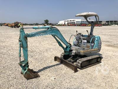 KOBELCO SK015 Mini Excavator (1 - 4.9 Tons)