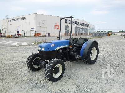 2007 NEW HOLLAND TN95FA MFWD Tractor