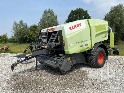2010 CLAAS ROLLANT 455RC Baler