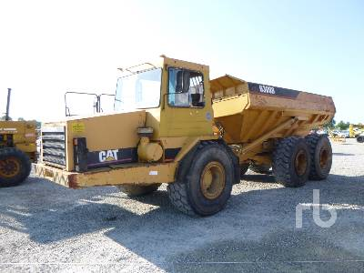 1995 CATERPILLAR D300D Articulated Dump Truck