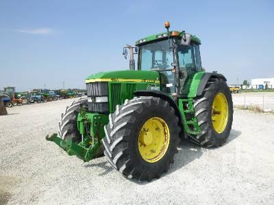 2002 JOHN DEERE 7710 MFWD Tractor