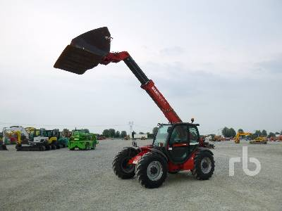 2004 MANITOU MLT731 TURBO 3100 Kg 4x4x4 Telescopic Forklift