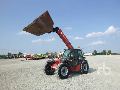2005 MANITOU MLT731 TURBO Telescopic Forklift