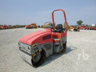 2008 BOMAG BW100AD-4 Tandem Vibratory Roller