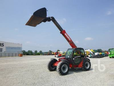 2013 MANITOU MLT735H 3500 Kg 4x4x4 Telescopic Forklift