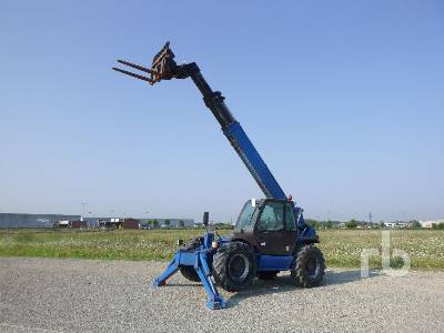 2007 MANITOU MT1740 4000 Kg 4x4x4 Telescopic Forklift