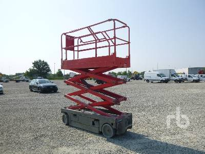 2010 HAULOTTE COMPACT 8 8 m Electric Scissorlift