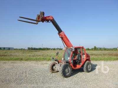 2005 MANITOU MT523 2300 Kg Telescopic Forklift
