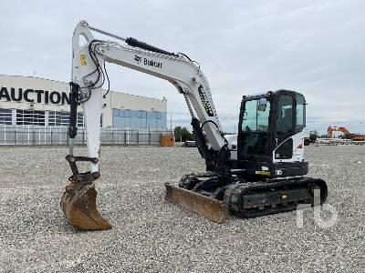 2015 BOBCAT E85EM Midi Excavator (5 - 9.9 Tons)