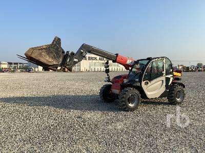 2017 MANITOU MT625H TURBO 2500 Kg 4x4x4 Telescopic Forklift