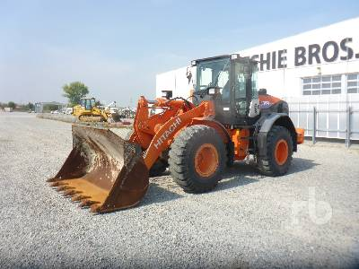 2017 HITACHI ZW150-6 Wheel Loader