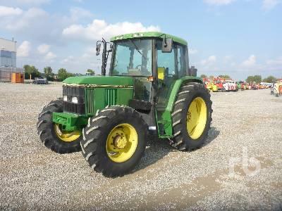 1993 JOHN DEERE 6400 MFWD Tractor